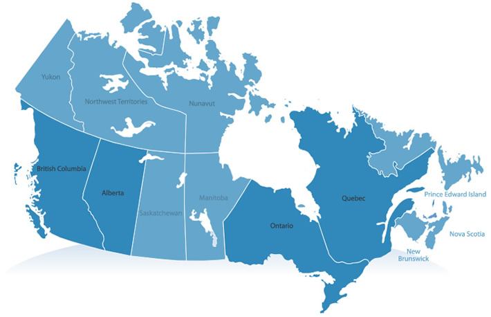 canada-map – Nice Images . TOP